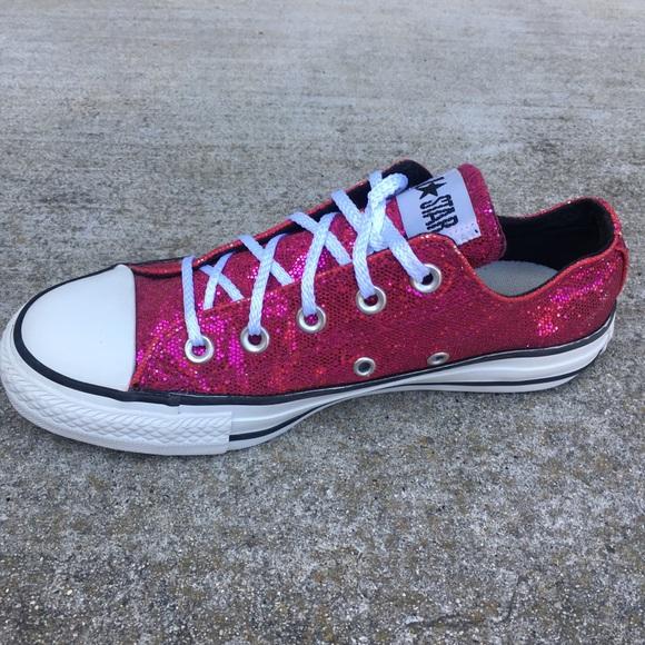 Star Hot Pink Glitter Women Shoemint
